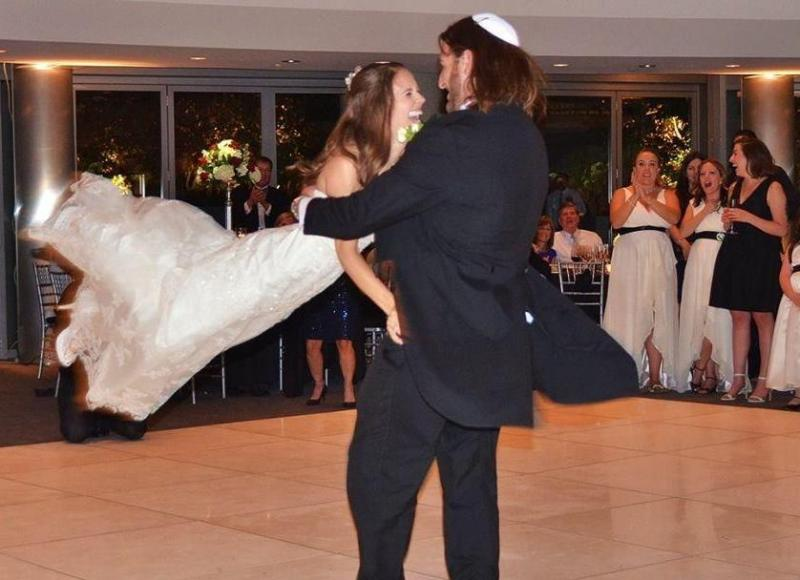 Hora,first dance,wedding,ceremony, Klezmer,swept off her feet,circle dance,CA,OY