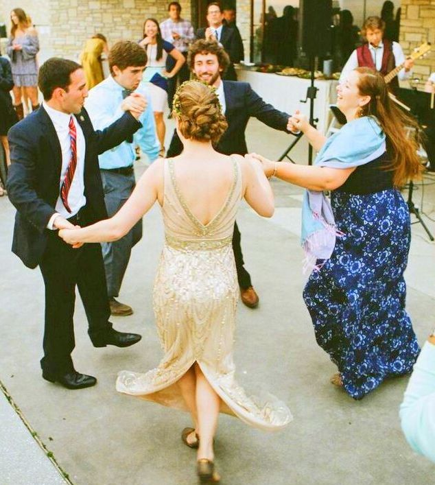 Jewish Wedding HORAKlezmer Bandcircle Dance Bridegroomchuppa